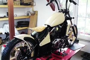 W&B Custom Bikes VN 800 old school - Umbautagebücher Teaser