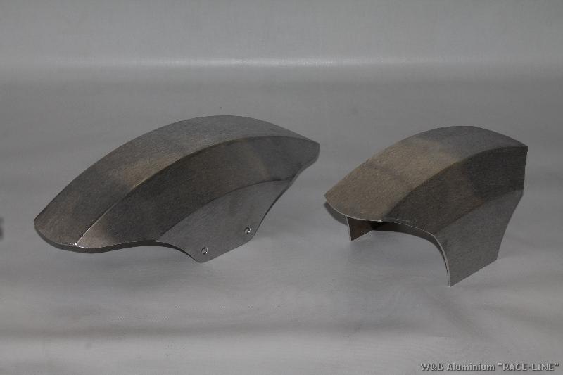 "Frontfender Aluminium Modell ""Race Line"" - Long und Short"